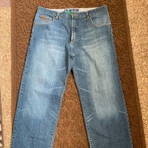 EUC LRG Relaxed Straight Leg Jeans